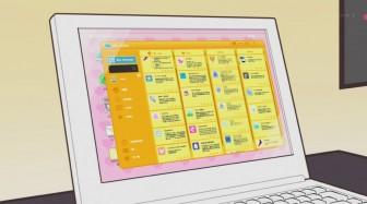 ミス・モノクローム、うーさー、わかば*ガール 第2話  (530)