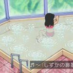 【悲報】「ドラえもん」、しずかちゃんの入浴シーンが水着になるwwwww