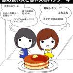 【画像】一流漫画家「頭悪い人と良い人のパンケーキ描きました」→ 超RTwwwww