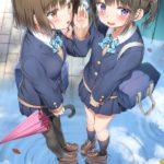 【画像】女子高生、友達にパンツの色を当てられてしまうwwwww